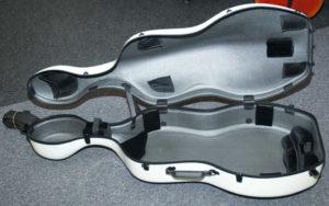Interno custodia per violoncello in carbonio